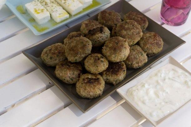 Griechische Keftedakia - Hackfleischbällchen mit Kräutern