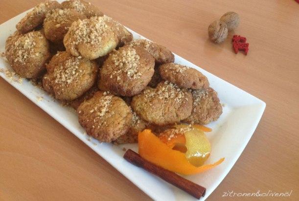 Melomakarona - Griechisches Weihnachtsgebäck - Honignudeln