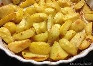 Zitronenkartoffeln mit Olivenöl aus dem Ofen