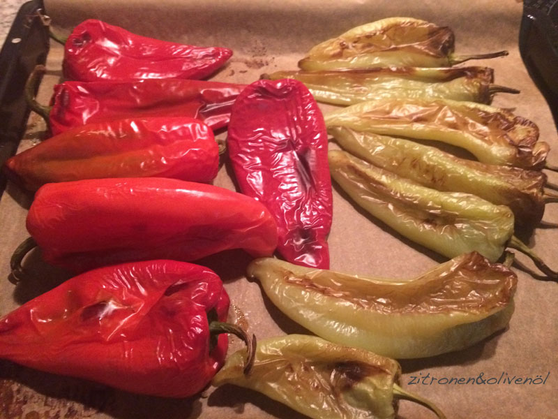 Gebratene Paprika