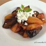 Auberginen mit Kartoffeln- und Feta