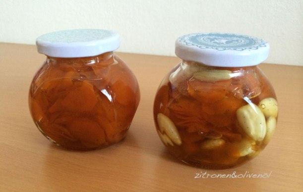 Sirupkarotten mit und ohne Mandeln