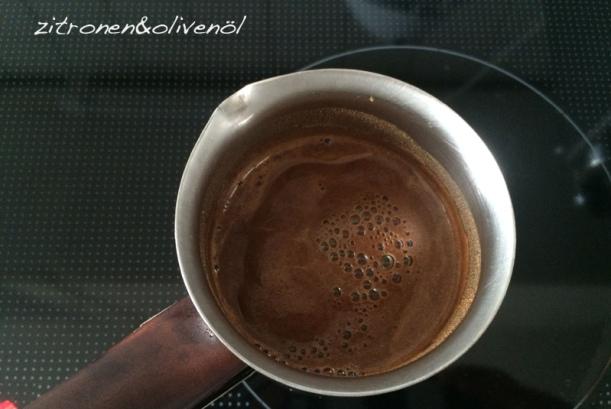 Step 3 Griechischer Kaffee Wölbungen