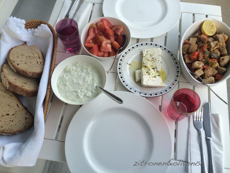 Tigania als Abendessen