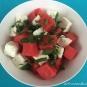 Wassermelonen-Feta Salat mit frischer Minze
