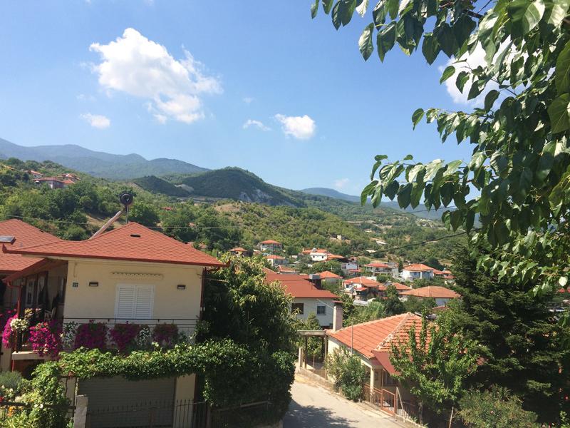 Das Pieria-Gebirge