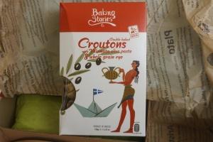 Croutons mit Kalamata Oliven im Paket von Monthly Flavors