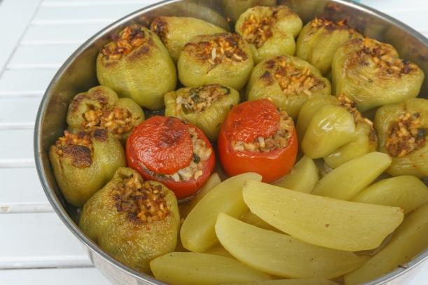 gefuellte-paprika-griechisch