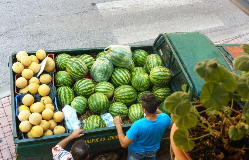 Wassermelonenverkäufer