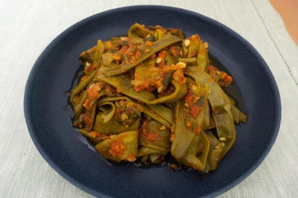 Fasolakia - Grüne Bohnen aus Griechenland