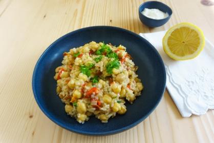 Revithorizo - Reis mit Kichererbsen von den griechischen Inseln