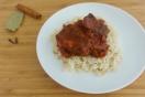 Kokkinisto - griechisches Schmorgericht in Tomatensauce