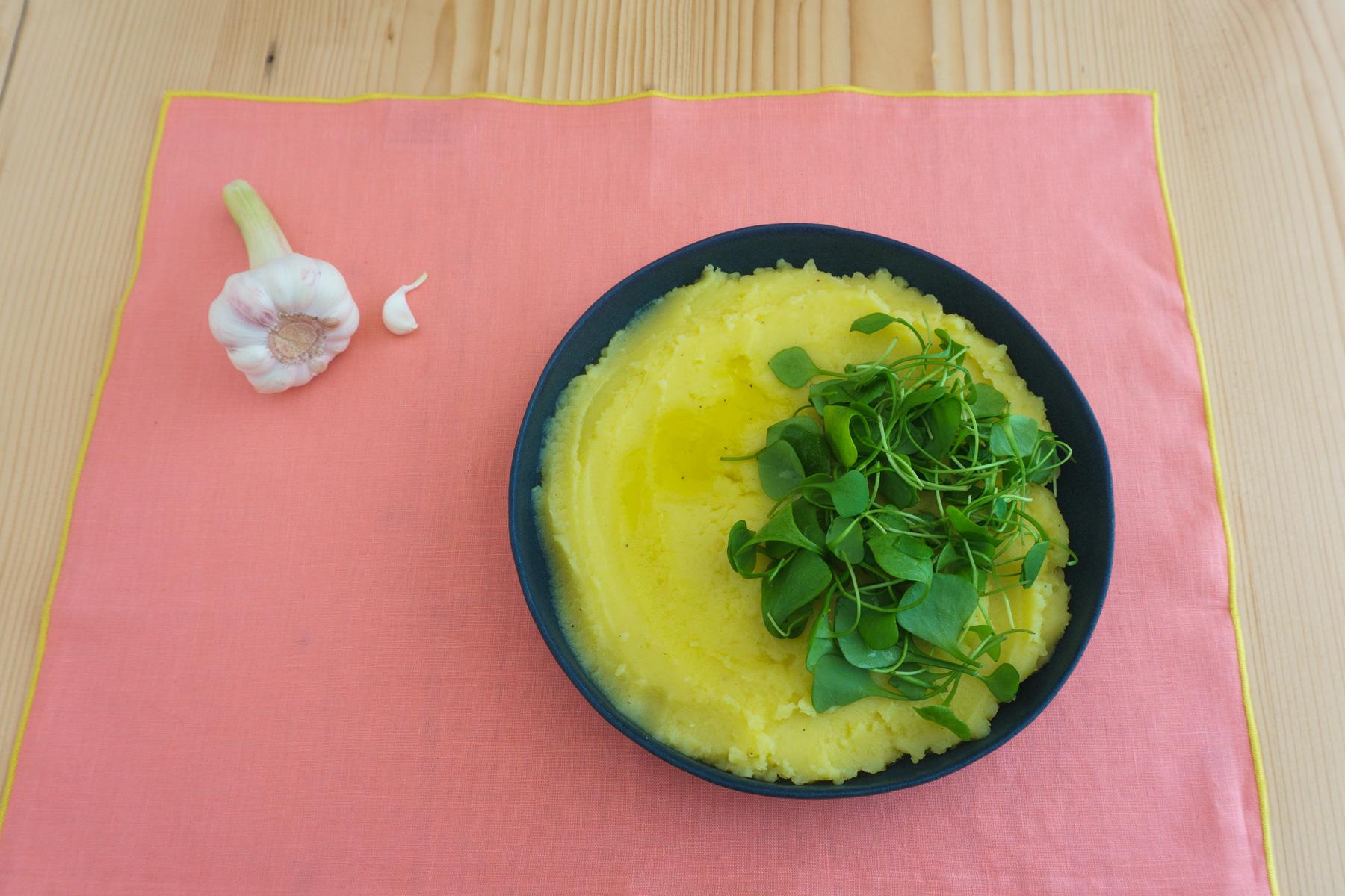 Skordalia mit Kartoffeln und Knoblauch